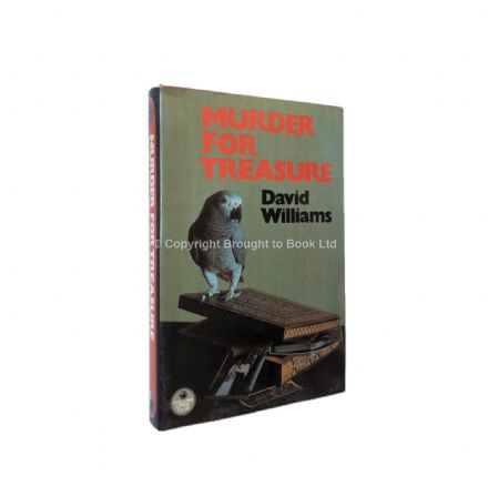 Murder For Treasure by David Williams First Edition The Crime Club by Collins 1980